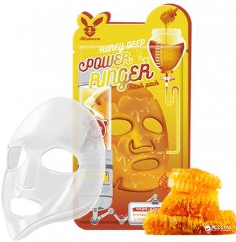 Лифтинг-маска Медовая Elizavecca Honey Deep Power Ringer Mask Pack 23 мл (8809317961088/8809520941921)