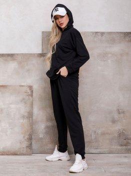 Спортивний костюм ISSA PLUS 12397 Чорний