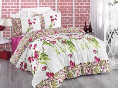 Комплект постельного белья Gokay Ранфорс Rhapsody 160x220x2 (010079175)