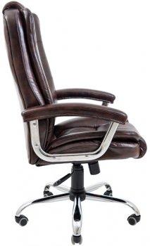 Кресло Rondi Калифорния Люкс Хром Коричневое (1410198477)