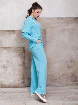 Спортивний костюм ISSA PLUS 12424 Блакитний