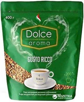 Кофе растворимый Dolce Aroma Gusto Ricco 400 г (4820093481465)
