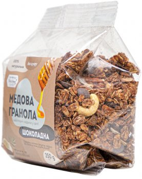Гранола Oats&Honey шоколадная пленка 250 г (4820013333942)