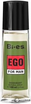 Парфюмированный дезодорант в стекле для мужчин Bi-es Эго 100 мл (5905009044244)