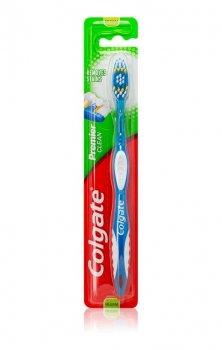 Colgate Premier Clean зубна щітка середньої жорсткості (кольорові варіації Blue)