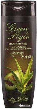 Шампунь Liv Delano Green Style Авокадо и Алоэ 400 г (4811248001973)