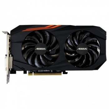 Видеокарта Gigabyte Pci-Ex Radeon Rx 570 Aorus 4Gb Gddr5 (256Bit) (1280/7000) (Dvi, Hdmi, 3 X Display Port) (Gv-Rx570Aorus-4Gd)