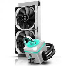 Система водяного охлаждения Captain 240X White, Intel: 2066/2011-v3/2011/1151/1150/1155/1366, AMD: TR4/AM4/AM3+/AM3/AM2+/AM2/FM2+/FM2/FM1, 282х120х27 мм, 3-pin, 4-pin