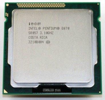 Б/У, Процесор, Intel Pentium g870, 2 ядра, 3.1 GHz