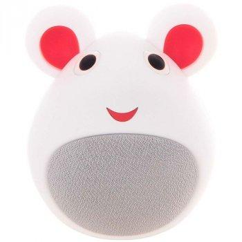 Дитяча портативна колонка мишка MB-M919(White)