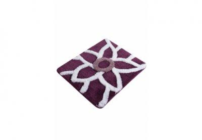 Килимок для ванної Chilai Home Naturel Mor Фіолетовий