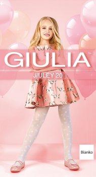Колготки Giulia Jiuley (1) 20 Den 116-122 см Bianco (4823102966120)