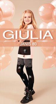 Колготки Giulia Janis (4) 80 Den 140-146 см Dark Grey Melange (4823102965567)