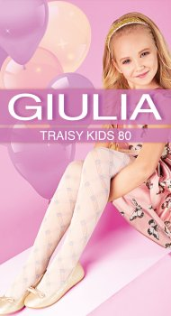 Колготки Giulia Traisy Kids (3) 80 Den 140-146 см Panna (4823102967400)