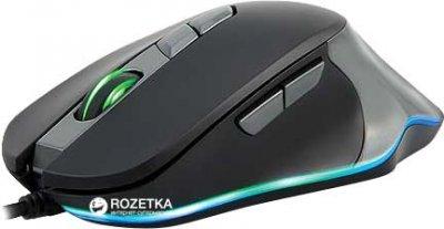 Миша Real-El RM-780 RGB USB Black/Grey (EL123200023)