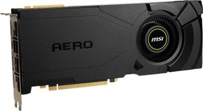 MSI PCI-Ex GeForce RTX 2080 Super Aero 8GB GDDR6 (256bit) (1815/15500) (1 x HDMI, 3 x DisplayPort) (RTX 2080 SUPER AERO)