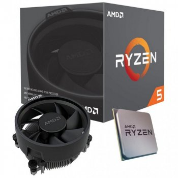 Процессор AMD (AM4) Ryzen 5 3600, Box, 6x3,6 GHz (Turbo Boost 4,2 GHz), L3 32Mb, Matisse