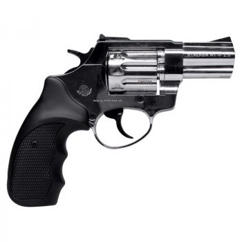"Револьвер Флобера Stalker 2.5"" Black Nickel 4 мм"