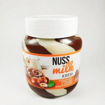 Nuss Milk Krem 400 g шоколадно молочна паста з смаком горіха
