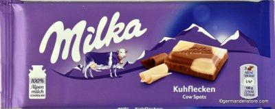 Шоколад Milka Kuhflecken 100 g