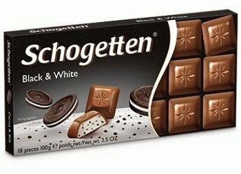 Шоколад Schogetten Black and White 100 g