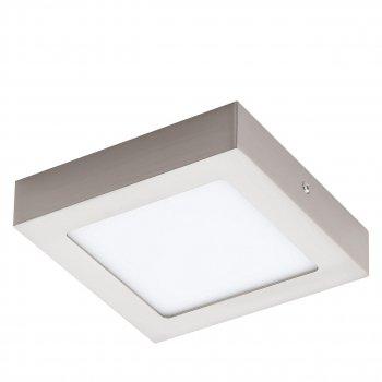 Потолочный светодиодный светильник Eglo 32444 FUEVA 1 NICKEL