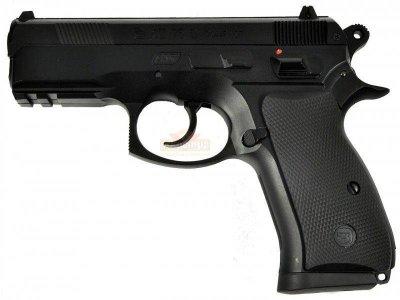 Пневматичний пістолет ASG (CZ 75D Compact). Корпус - метал (16086)