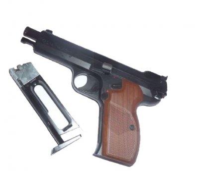 Пневматичний пістолет SAS P 210 Blowback (P210BB)