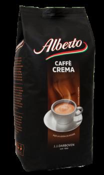 Кофе в зернах J.J.Darboven Alberto Caffe Crema 1 кг
