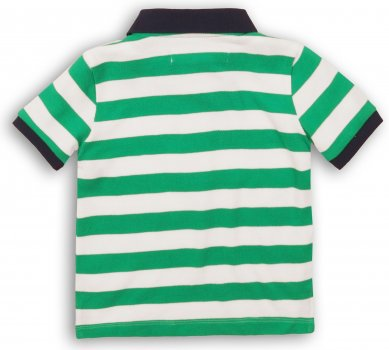 Поло Minoti 1Polost 3 13069/13070/13071 Зеленое с белым