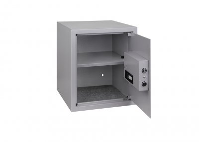 Сейф Kesser NR40 стальной мебельный для офиса и дома Серый