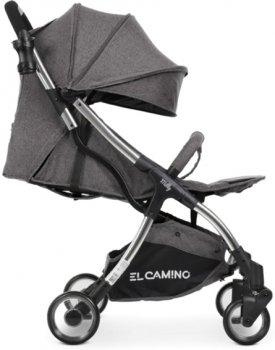 Прогулочная коляска El Camino Milly ME 1059 Midnight Black (ME 1059 midnight black)