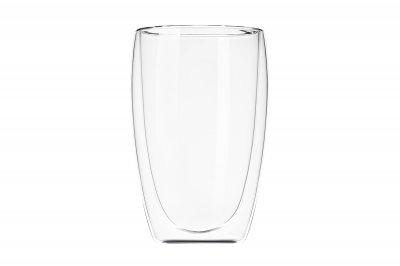 Набор чашек Ardesto с двойными стенками для латте 400 мл х 2 шт (AR2640G)