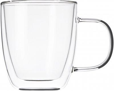 Набор чашек с ручками Ardesto с двойными стенками для латте 310 мл х 2 шт (AR2631GH)