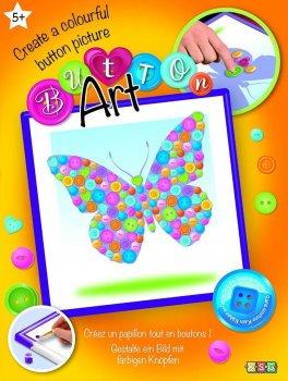Набор для творчества Sequin Art Button Butterfly 26х26 см (SA1528)