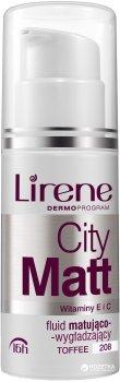 Тональный крем с матирующим и выравнивающим эффектом Lirene City Matt Тоффи 30 мл (5900717062085)