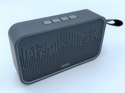 Портативная колонка с Bluetooth и флешкой беспроводная Vidvie GO 910B Черная (TW18910B)