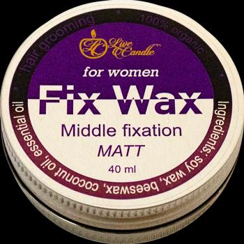 Моделирующий воск для волос, женский, матовый (ВЖМ-mg)
