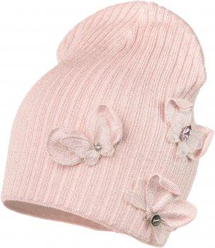 Демисезонная шапка Jamiks EWELONA-3 52 см Розовая (5903024093544)