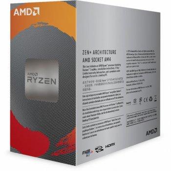 Процесор AMD Ryzen 3 3200G (YD3200C5FHBOX) (WY36YD3200C5FHBOX)