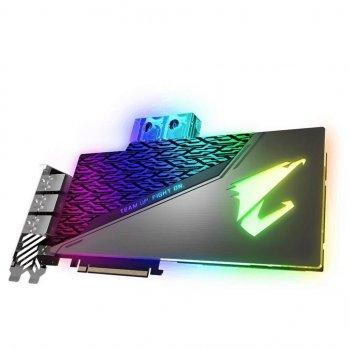 Видеокарта GIGABYTE GeForce RTX2080 Ti 11Gb AORUS XTREME WATERFORCE WB (GV-N208TAORUSX WB-11GC) (WY36GV-N208TAORUSX WB-11GC)
