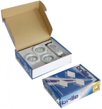 Набір світильників точкових Brille SET 1/HDL-S 02 WH (82) 3x20W W/T (163442)