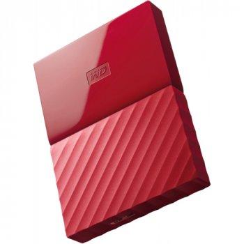 Зовнішній жорсткий диск WD 2TB USB (WDBS4B0020BRD-WESN) My Passport Red (WY36dnd-202880)