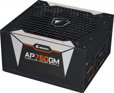 Блок живлення Gigabyte Aorus P750W 80+ Gold Modular (GP-AP750GM)