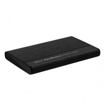 "Жорсткий диск TrekStor DataStation Pocket Capa 320GB TS25-320PC 2.5"" USB 2.0 External Black Refurbished"