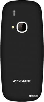 Мобільний телефон ASSISTANT AS-201 Black