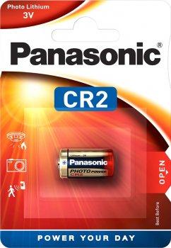 Батарейка Panasonic литиевая CR2L блистер, 1 шт (CR-2L/1BP)