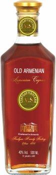 Бренді Old Armenian V.S 3* 0.5 л 40% (4850015312256)