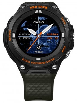 Годинник Casio WSD-F20A-GNBAE Pro-Trek Smartwatch 58mm 5ATM
