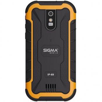 Мобільний телефон Sigma X-treme PQ20 Black-Orange (4827798875421)